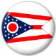 Ohio State Flag 25mm Pin Button Badge